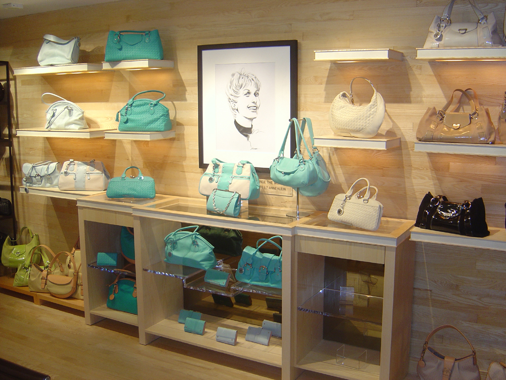 RETAIL - Ash FC _ QC Plank - Anne Klein Handbag Showroom