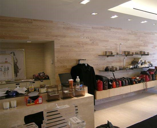 RETAIL - OAK BUTCHER BLOCK - Store