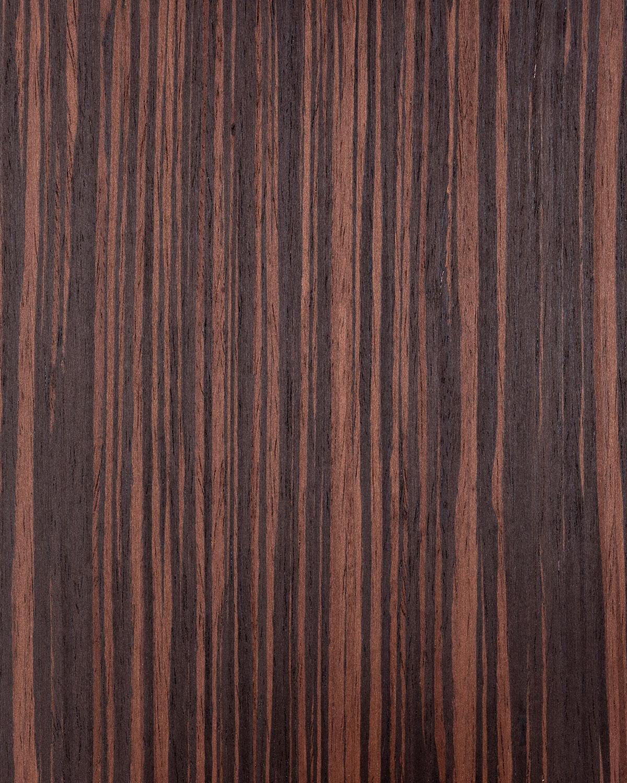 Recon Ebony Quarter Cut - Red Stain
