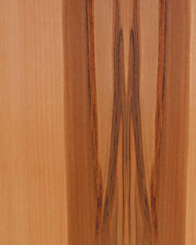 Walnut, Satin Flat Cut