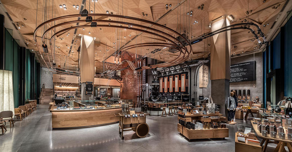 Starbucks Tokyo Installation
